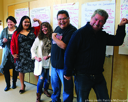 Homalco leaders  envision BRIGHT future