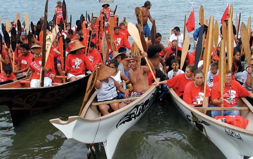 Tribal Canoe Journey 2015
