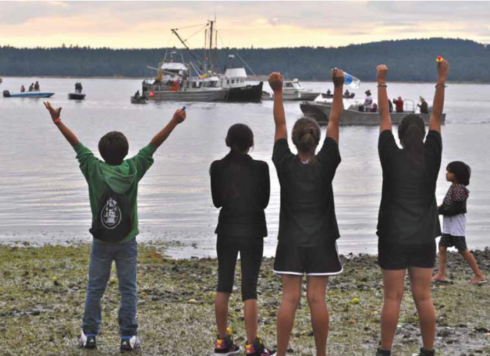 Geoduck protest looms