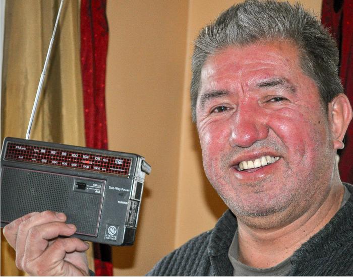 Homalco radio station tunes in