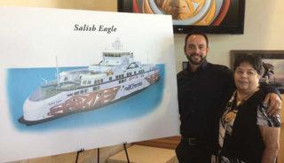 Salish Eagle to glide over the Salish Sea