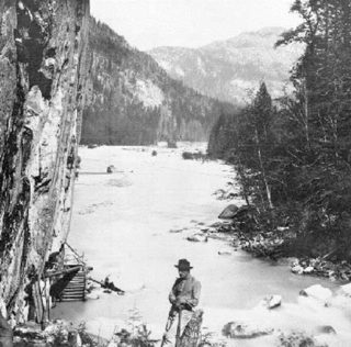 historic photo of the Great Canyon