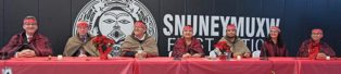 first nation leaders at long table