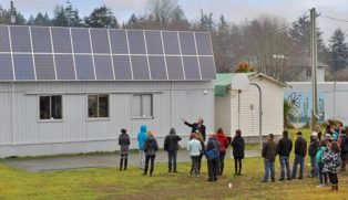 Solar tour group
