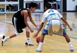 Snuneymuxw Sons play basketball championship