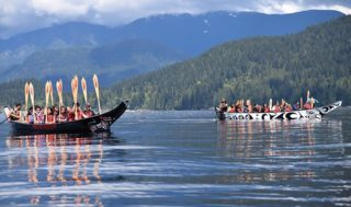 Tsleil-Waututh holds water blessing ceremony on Mother's Day
