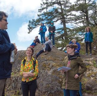 'We are thinking about our kids': UVic symposium visits T'Sou-ke