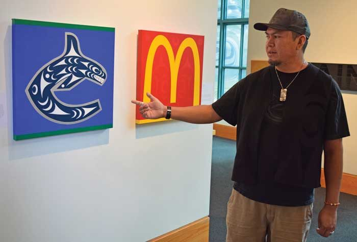 Artists embrace 'intangible' Coast Salish identity