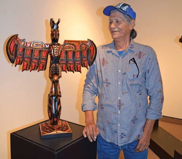 """Carving out a life: Richard """"Tomahawk"""" Thomas on his unique style"""