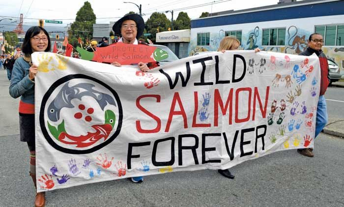 Six-day journey celebrates wild salmon