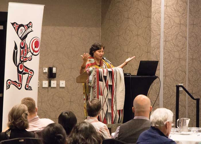 Renewable energy advocates speak at Tsleil-Waututh's 'Yes Agenda Summit'