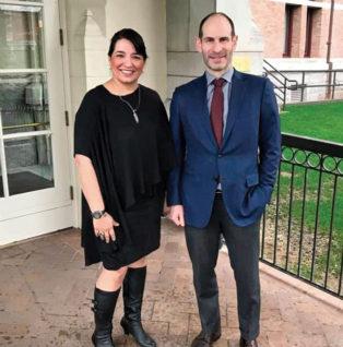 Renee Racette and Jeff Zweig