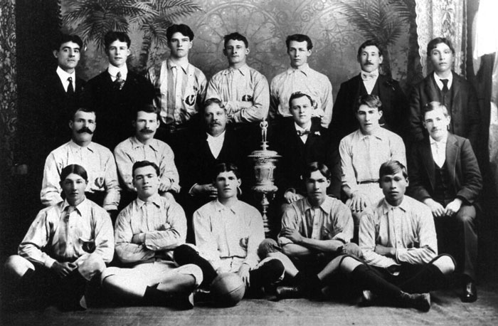 Nanaimo Football Team, 1903