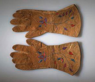 Interior Salish Gloves