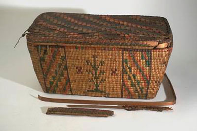 American Salish Basket