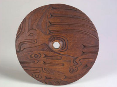 Cowichan Spindle Whorl