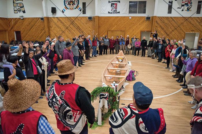 canoe blessing ceremony