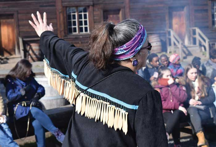 Kwantlen guides teach through Salish stories