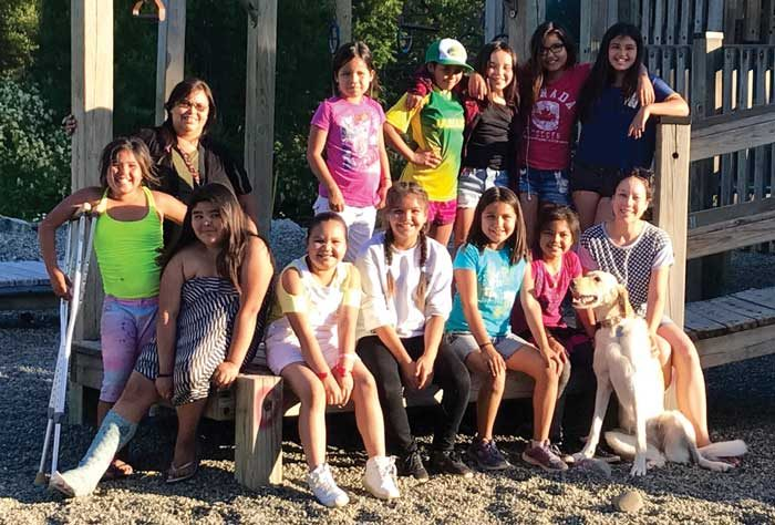 Weekly program empowers girls at Malahat Nation