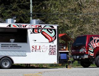 Tla'amin's Sli City Grill goes mobile