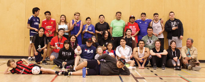 Homalco soccer season wraps up with tournament