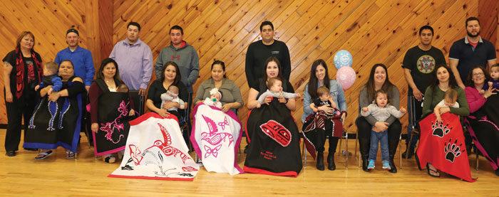 Tla'amin welcomes 15 new babies
