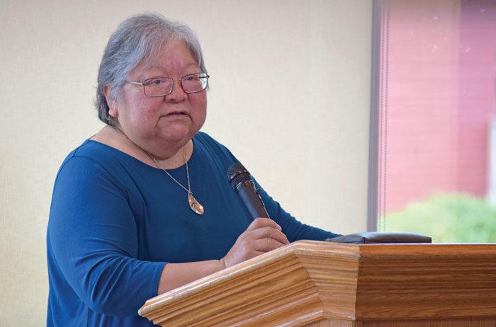 Dr. Lorna Williams gives keynote at VIU