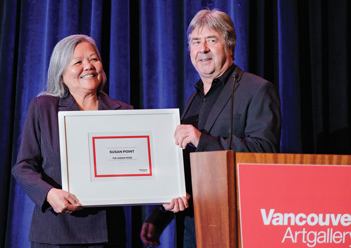 Susan Point honoured with 2018 Audain Prize