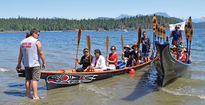 Awaken the Canoes: Pullers prepare for summer journeys at Klahoose
