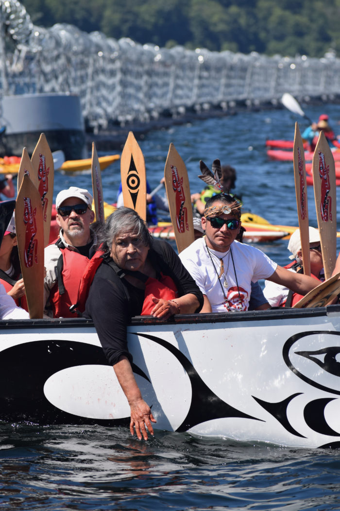 'You're pushing us forward': Water ceremony held at Tsleil-Waututh