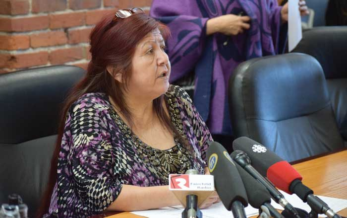 Homalco woman expert witness in MMIWG hearings