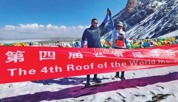 Running the world: Klahoose athlete finishes 10 marathons