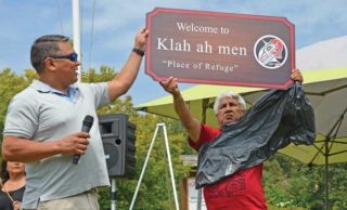 Klah ah men: Tla'amin site renamed on Indigenous Peoples Day
