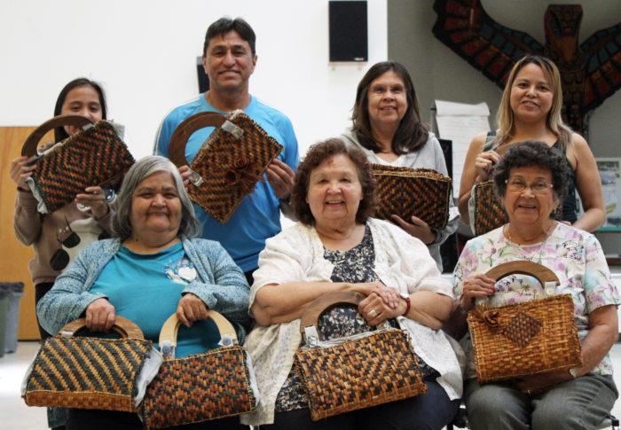 Homalco weaving workshop brings reconnection