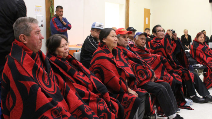 Homalco ceremony welcomes survivors home
