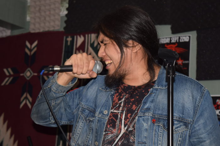 Tribal X plays hard rock with Indigenous edge