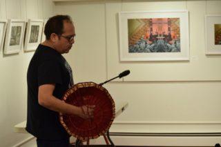 Kwantlen artist educates about Coast Salish drumming