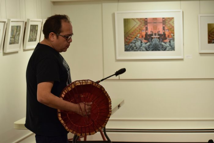 Kwantlen artist educates about Coast Salish drumming