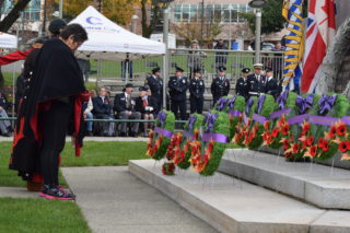 Indigenous veterans honoured with ceremony