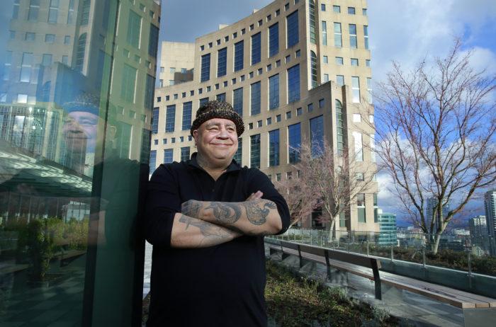 Kwantlen storyteller brings culture, humour to VPL