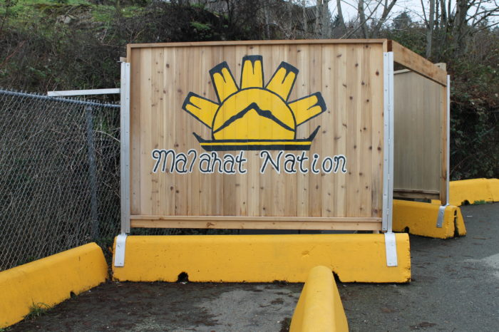 Malahat artwork added to Mill Bay ferry terminal