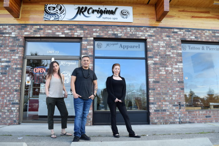 Tla'amin member opens 'tattoo spa' in Powell River