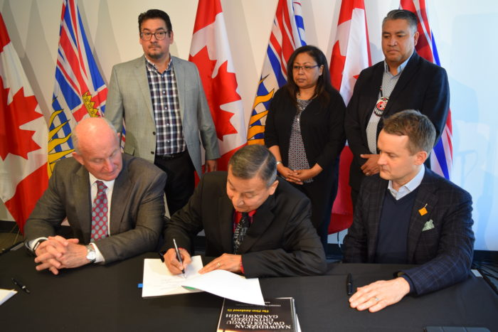 MoU commits to improve B.C. First Nations' emergency management