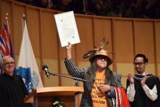 Artist Lawrence Paul Yuxweluptun receives honorary degree