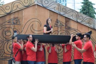 Canoe ceremony honours Indigenous women