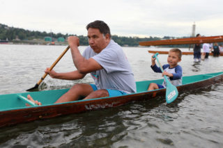 Orca relatives bless annual TWN canoe festival