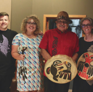 Creating a Coast Salish Symphony with Rob the Viking