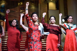 VIFW opens with red dress event honouring MMIWG2