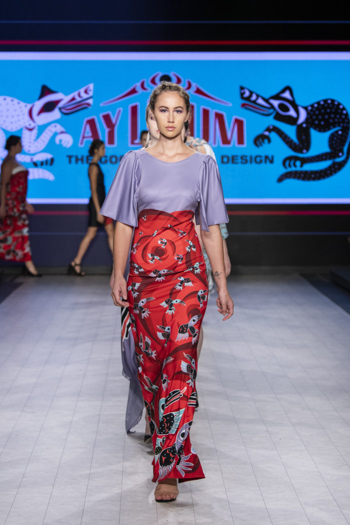 Snuneymuxw fashion house debuts new collection, music