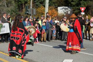 Tla'amin members lead 'Walk for Reconciliation' in Powell River